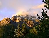 Goat Mountain at Sunset